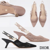 Christian Dior Wedge Casual Style Unisex Street Style Party Style