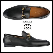 GUCCI Street Style Leather Oxfords