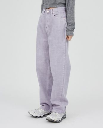 Raucohouse Plain Cotton Pants