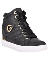 G BY GUESS Platform & Wedge Platform Casual Style Faux Fur Street Style Plain Logo 7