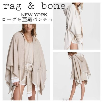 Plain Long Ponchos & Capes