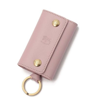 IL BISONTE Leather Keychains & Bag Charms