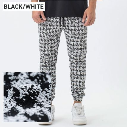 Printed Pants Zigzag Street Style Patterned Pants