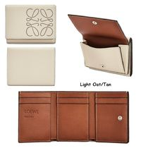 LOEWE TRIFOLD WALLET Brand Trifold 6 Cardholder In Calfskin