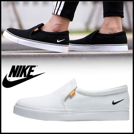 Nike AIR FORCE 1 Casual Style Street Style Plain Logo Slip-On Shoes