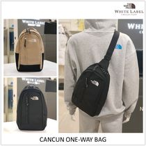 THE NORTH FACE WHITE LABEL Casual Style Unisex Crossbody Backpacks
