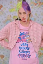 neon moon T-Shirts Crew Neck Street Style Long Sleeves Cotton Oversized 13