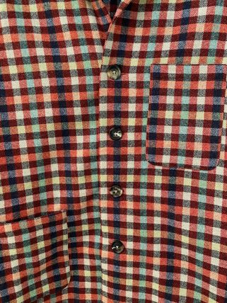 Other Plaid Patterns Unisex Wool Long Sleeves Shirts