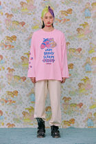 neon moon T-Shirts Street Style Logos on the Sleeves T-Shirts 13