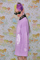 neon moon T-Shirts Street Style Logos on the Sleeves T-Shirts 12