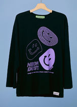 neon moon T-Shirts Street Style Logos on the Sleeves T-Shirts 14