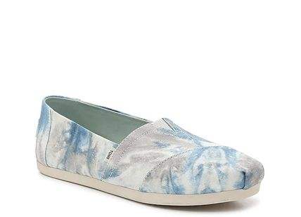 Tropical Patterns Plain Toe Casual Style Blended Fabrics