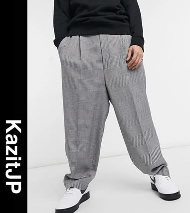 ASOS Other Plaid Patterns Printed Pants Patterned Pants