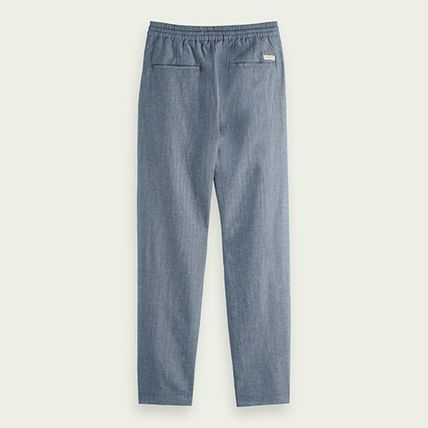 Linen Plain Cotton Bottoms