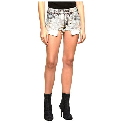 DIESEL Denim Street Style Denim & Cotton Shorts