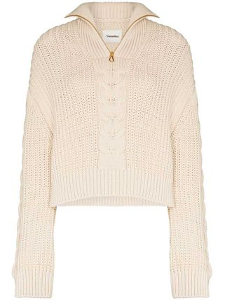 Cable Knit Long Sleeves Sweaters
