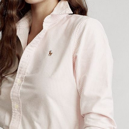 Ralph Lauren Formal Style  Stripes Casual Style Long Sleeves Cotton