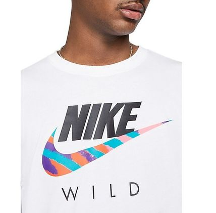 Nike Long Sleeve Crew Neck Long Sleeves Cotton Logos on the Sleeves 2