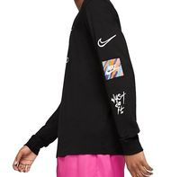 Nike Long Sleeve Crew Neck Long Sleeves Cotton Logos on the Sleeves 8
