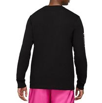 Nike Long Sleeve Crew Neck Long Sleeves Cotton Logos on the Sleeves 10