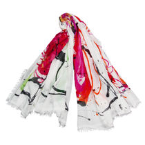 Faliero Sarti Flower Patterns Casual Style Cashmere Party Style