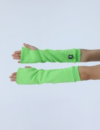 BASIC COTTON Logo Unisex Plain Cotton Street Style Gloves Gloves