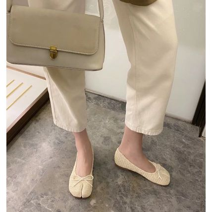 Formal Style  Bridal Military Icy Color Loungewear Platform