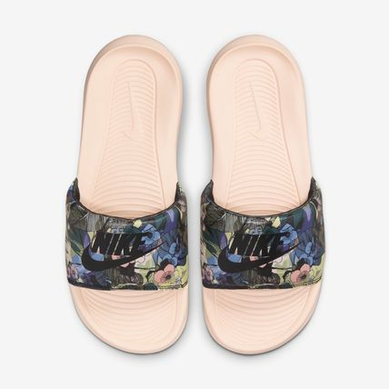 Nike Casual Style Street Style Shower Shoes Flat Sandals