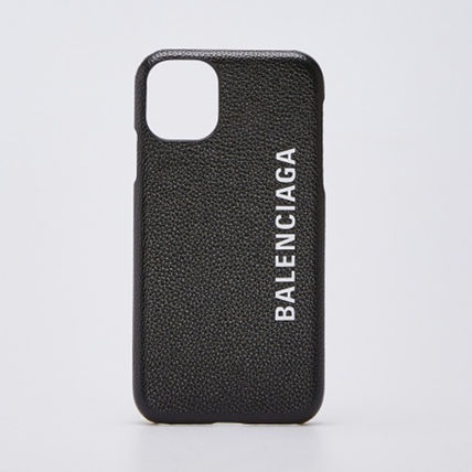 BALENCIAGA Plain Logo Smart Phone Cases