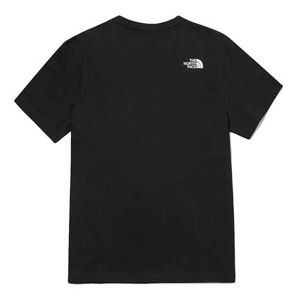 THE NORTH FACE More T-Shirts Unisex U-Neck Short Sleeves Logo Outdoor T-Shirts 3
