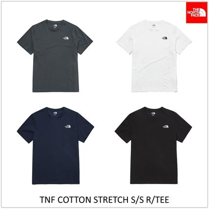 THE NORTH FACE More T-Shirts Unisex U-Neck Short Sleeves Logo Outdoor T-Shirts