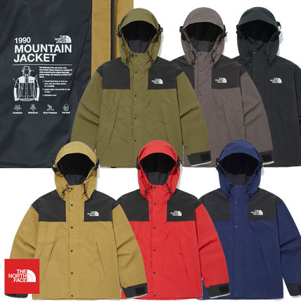 THE NORTH FACE Logo Casual Style Unisex Nylon Medium Street Style Outerwear