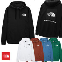 THE NORTH FACE Pullovers Unisex Street Style Long Sleeves Logo Outdoor