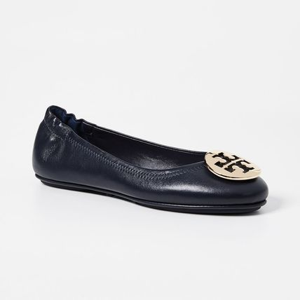 Tory Burch Platform Casual Style Plain Leather Party Style Office Style