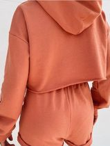 MISS LOLA Dresses Short Casual Style Street Style Long Sleeves Plain Co-ord 7