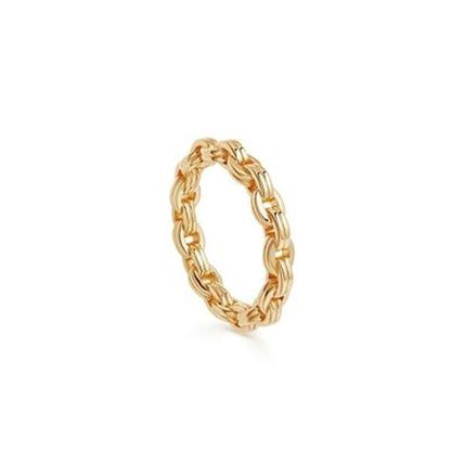 Costume Jewelry 18K Gold Elegant Style Formal Style  Rings
