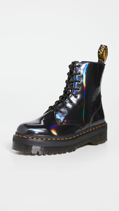 Dr Martens Mountain Boots Plain Leather Outdoor Boots