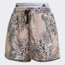 adidas by Stella McCartney Printed Pants Short Flower Patterns Casual Style