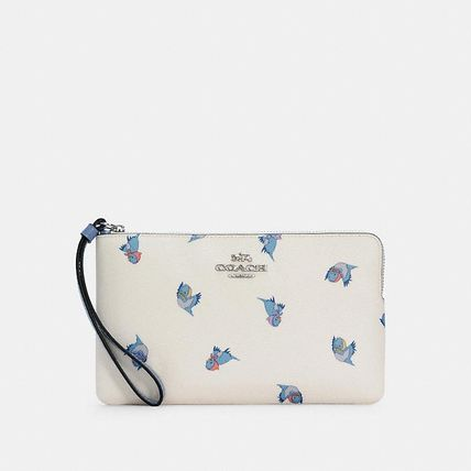 Coach Collaboration Logo Pouches & Cosmetic Bags