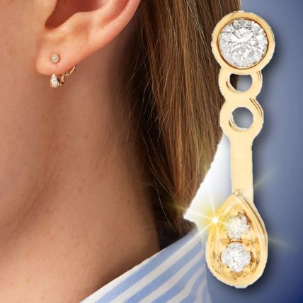 Casual Style Party Style Office Style 14K Gold Elegant Style