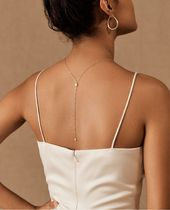 BHLDN Party Style Brass Elegant Style Formal Style  Party Jewelry