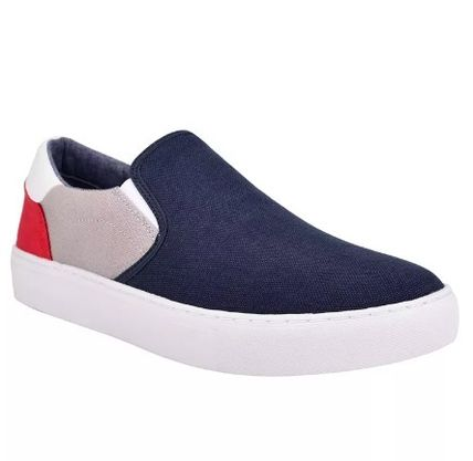 Tommy Hilfiger Logo Stripes Plain Loafers & Slip-ons
