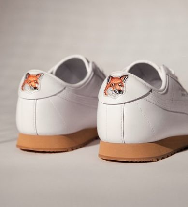 PUMA Unisex Collaboration Leather Sneakers