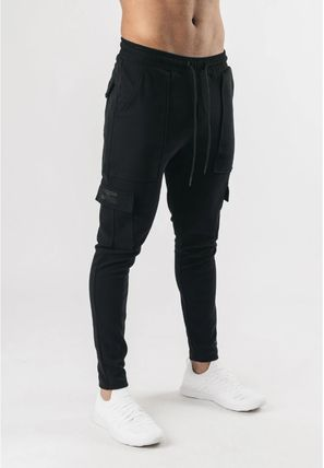 Logo Military Cotton Street Style Joggers & Sweatpants