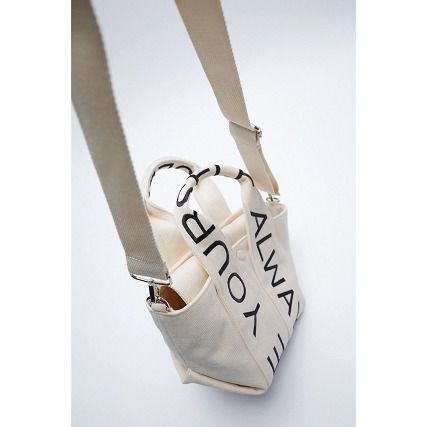 Canvas Crossbody Casual Style Unisex 2WAY Totes