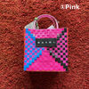 Casual Style Unisex Calfskin Street Style Logo Totes