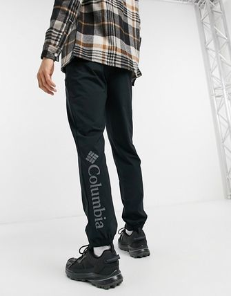 Logo Plain Pants