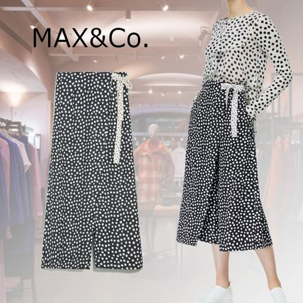 Max&Co. Dots Casual Style Bi-color Medium Party Style Office Style