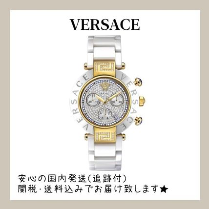 VERSACE Casual Style Office Style Elegant Style Digital Watches