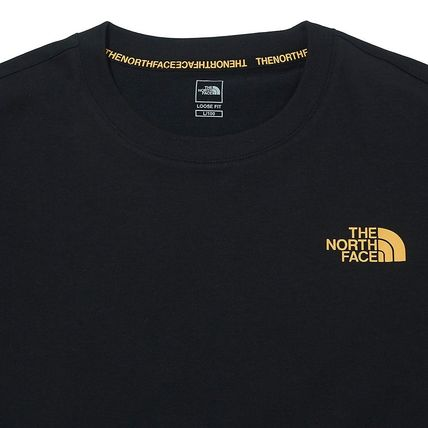 THE NORTH FACE More T-Shirts Unisex Street Style Cotton Logo Outdoor Graphic Prints 3